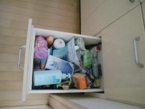 洗面所片づけ 片づけレッスンハンナリ 大阪 子育てママのための