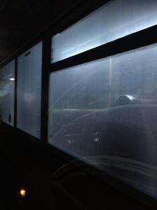 ハリポタのバス窓