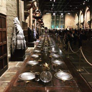 ホグワーツ魔法学校の食堂