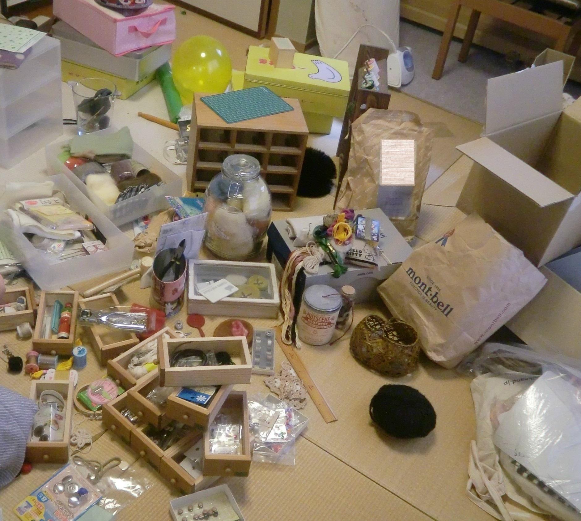 収納 整理整頓 片づけレッスンハンナリ 大阪 子育てママのための 片付けられない整理整頓小物 裁縫 手芸 片付け