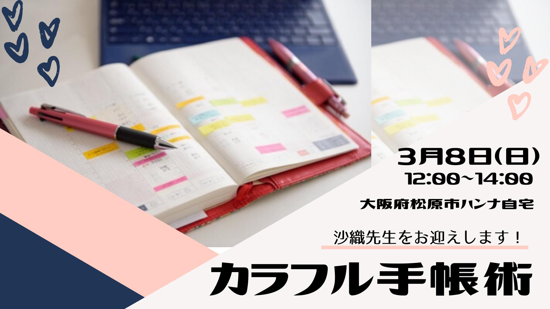カラフル手帳術 片コンハンナ
